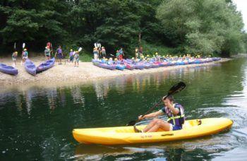 Descenso del sella en canoa Frontera Verde Aventura