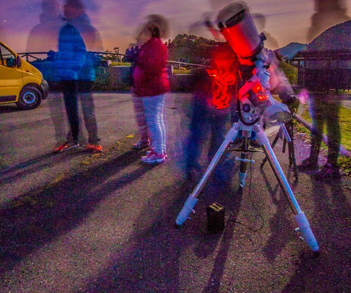 Curso iniciación a la Astronomía en los Picos de Europa