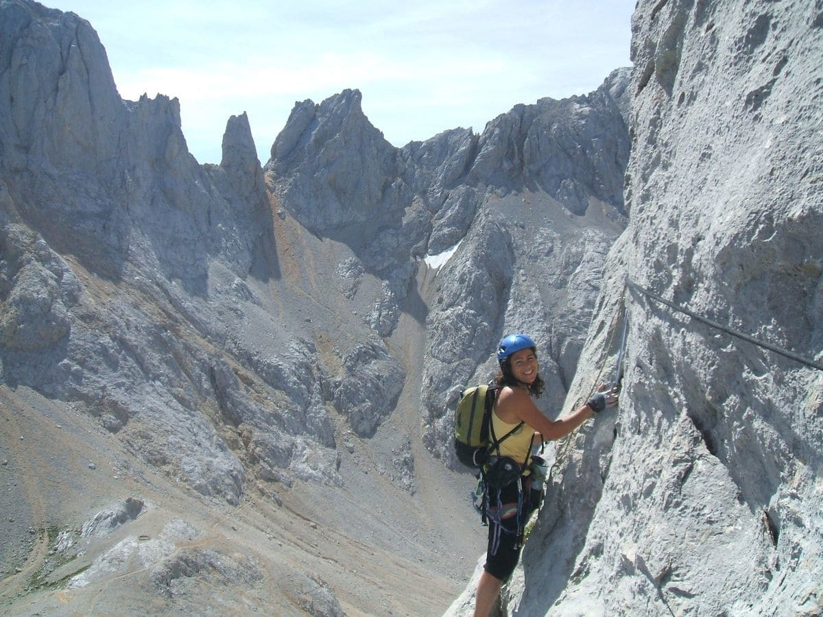 Escalada Picu Urriellu, Picos de Europa