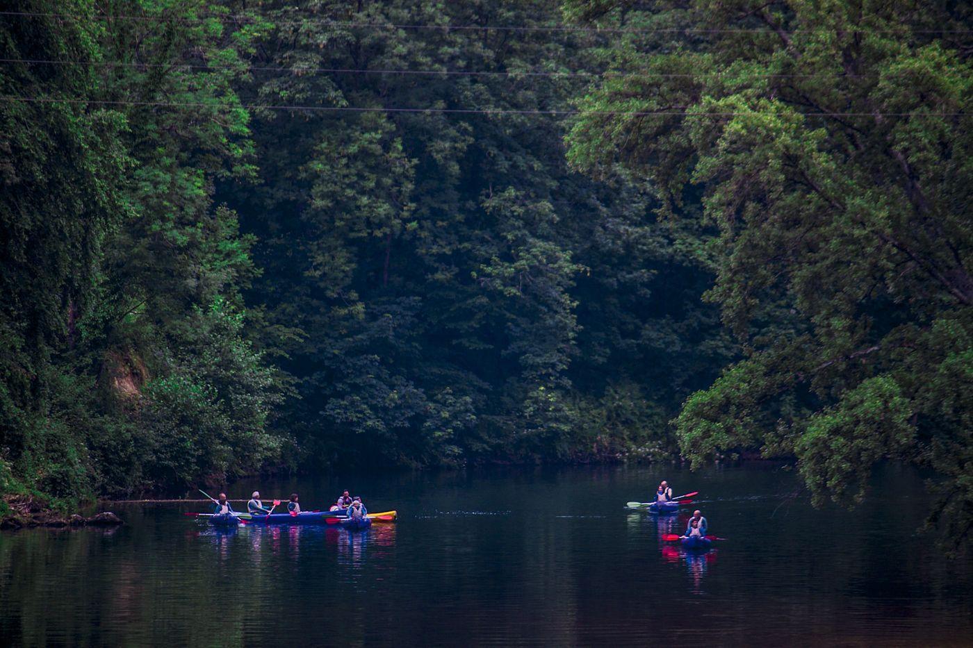 Descenso del Sella en canoa - Frontera Verde Aventura