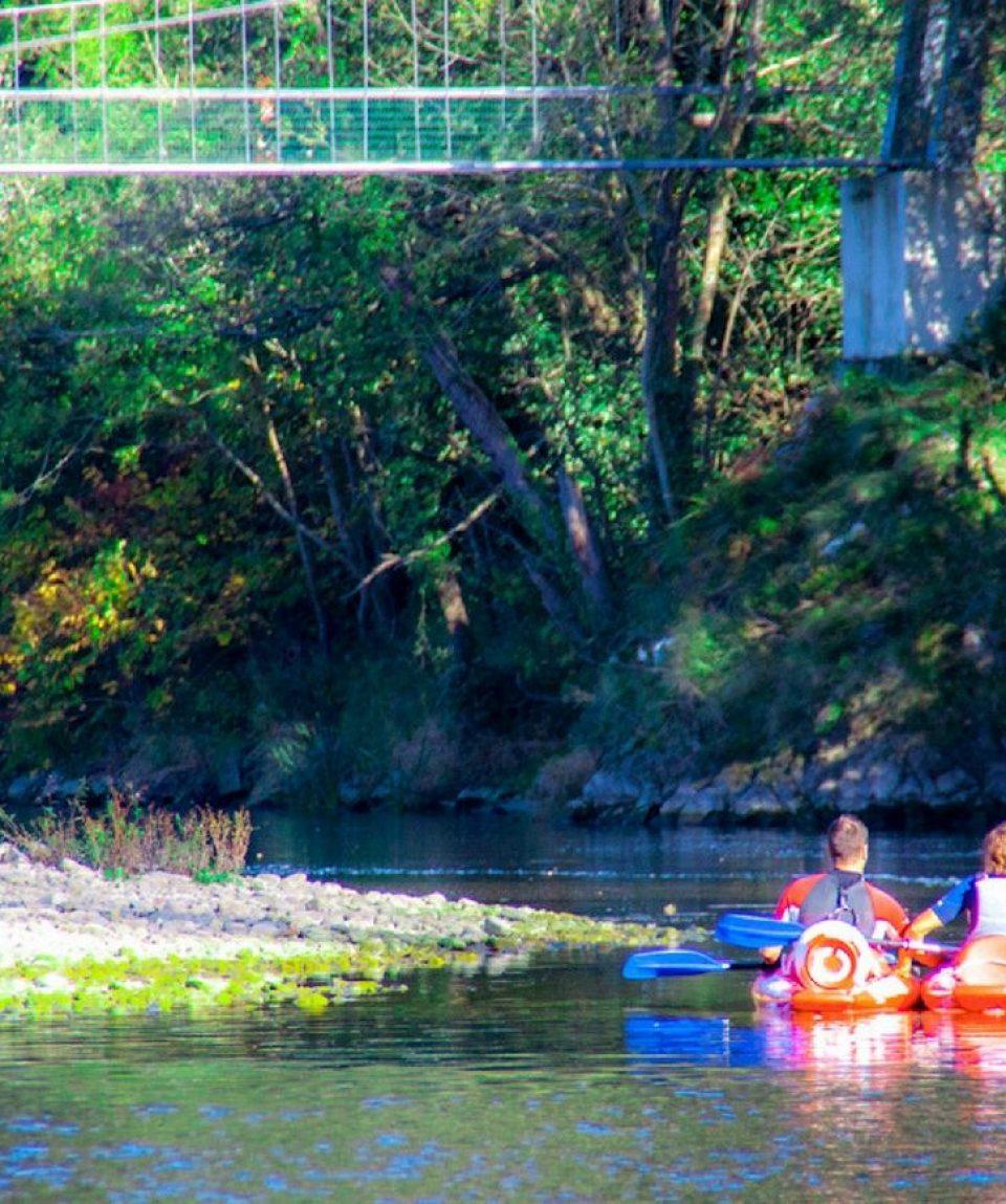 canoas en el sella