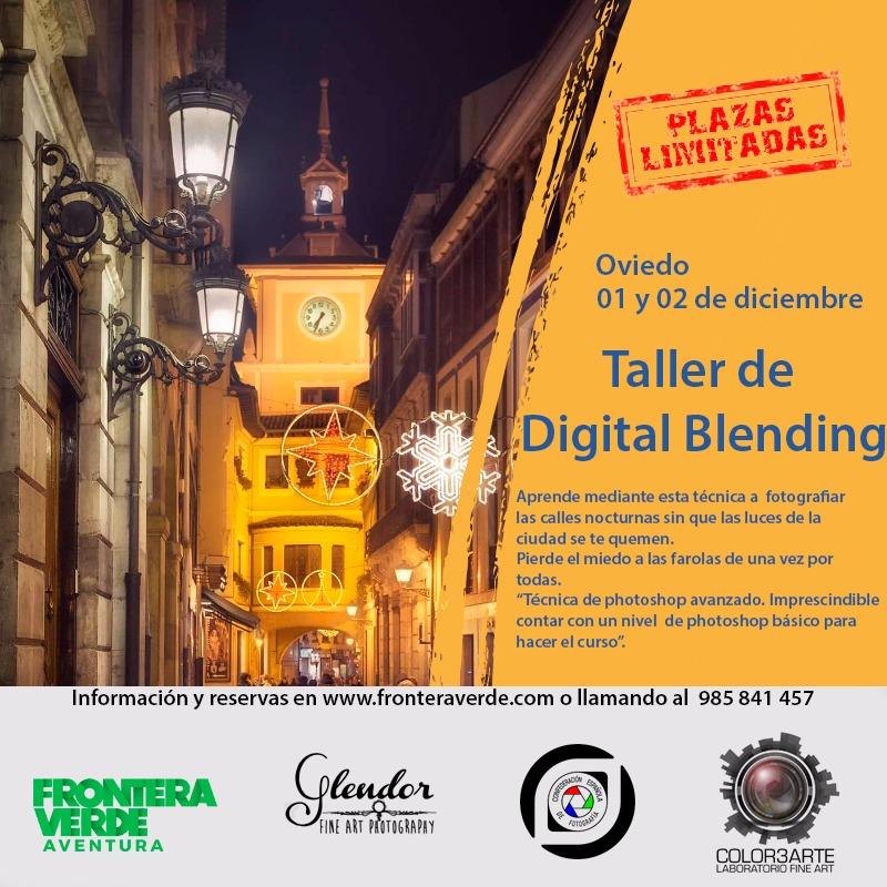 Taller foto Blending Digital en Oviedo