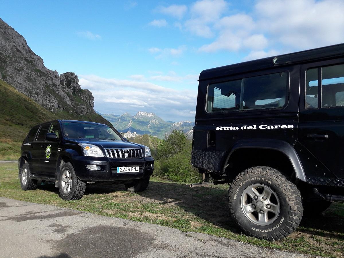 Traslados y excursiones a la Ruta del Cares en 4x4, Picos de Europa, Asturias.