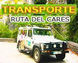 Transporte 4x4 a la ruta del Cares