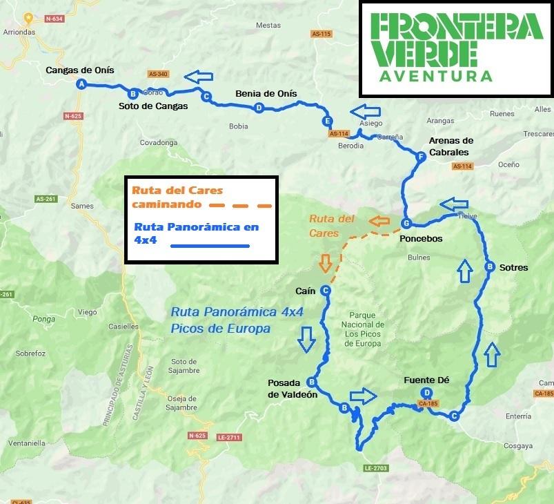Ruta Especial 4x4 por los Picos de Europa