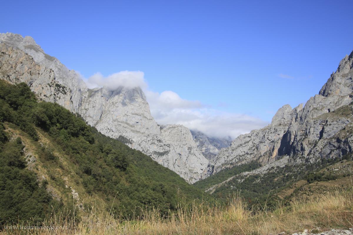 Vista panorámica de la Vía Ferrata de Valdeón