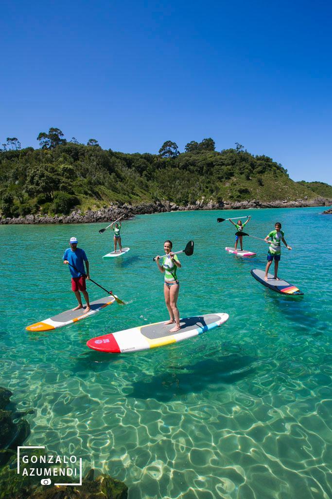 Paddle Surf en la costa de Llanes, Asturias